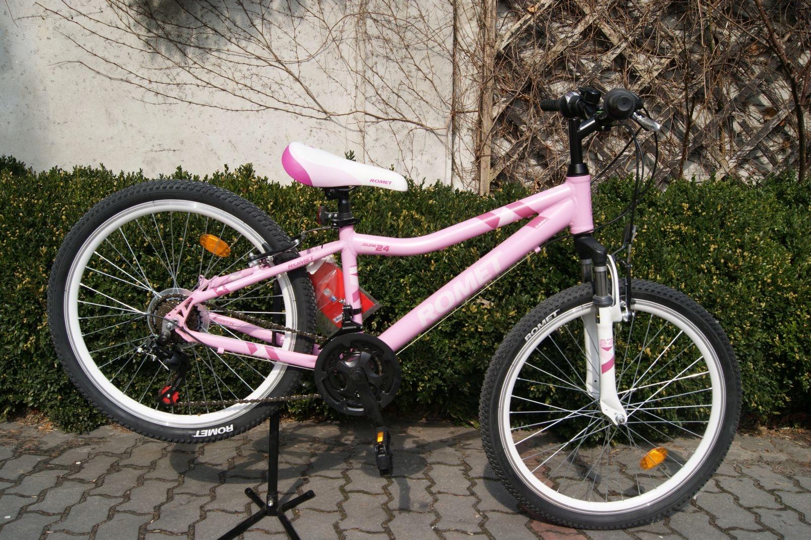R201 NOWY aluminiowy rower górski Romet koła 24''
