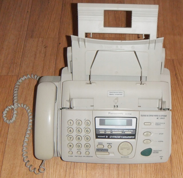 Telefon FAX Panasonic KX-FP158PD sekretarka