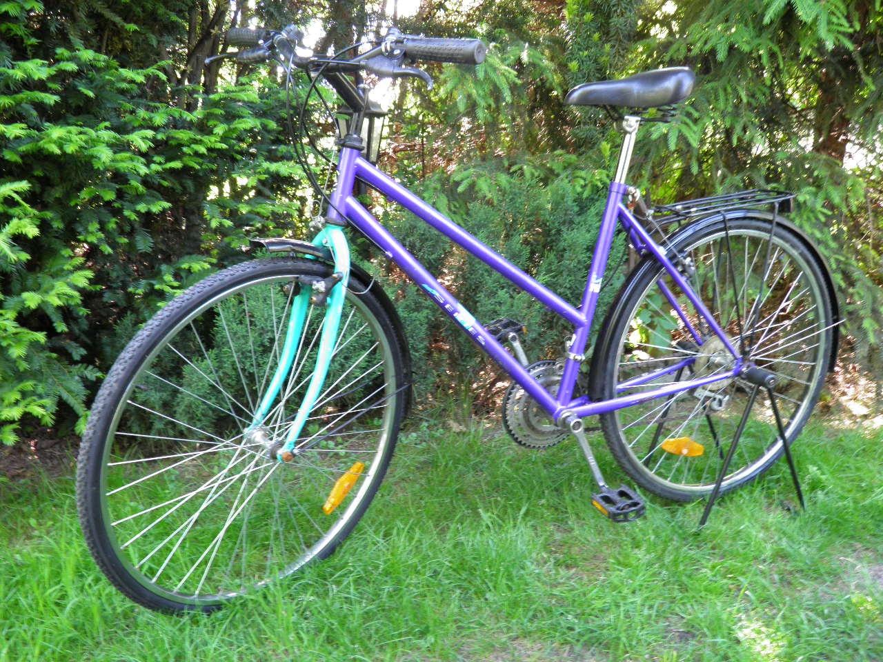 KLASYK fajny rower CHAMPION na28'' O TONIO