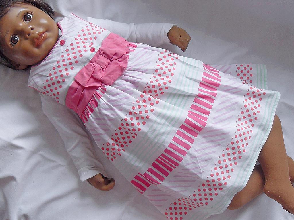 Sukienka bez. rękaw. NUTMEG, 86-92cm, 18-24 mies