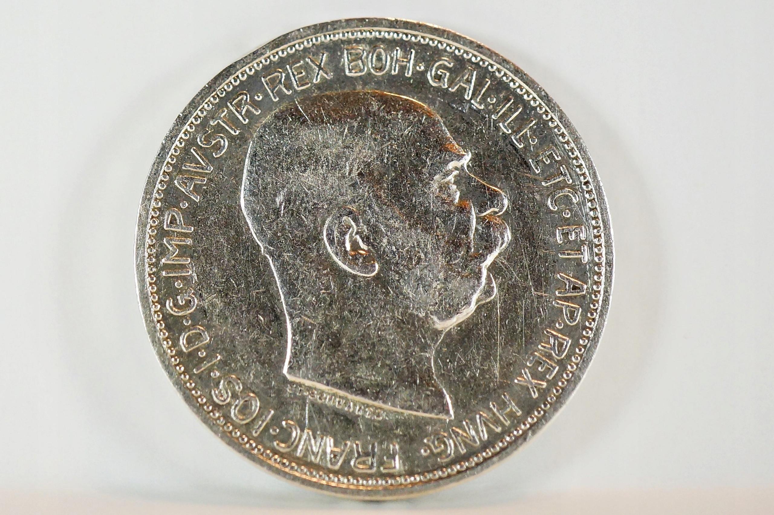 Austria - 2 Corona - Franz Joseph I 1912