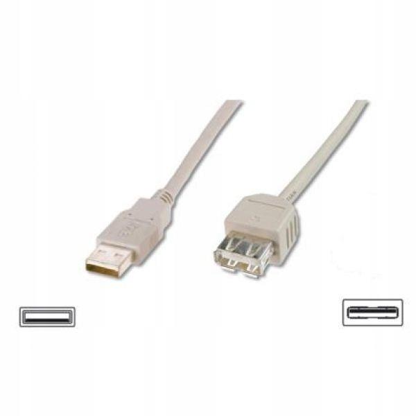 ASSMANN Kabel przedłużający USB 2.0 HighSpeed Typ