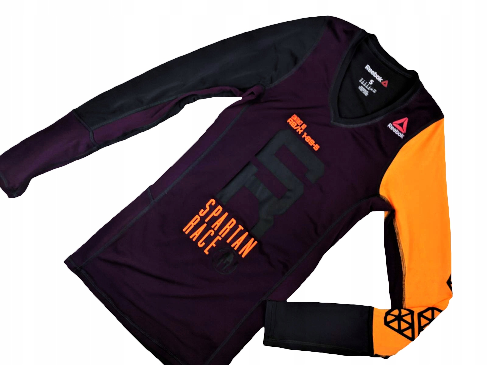 REEBOK SPARTAN RACE koszulka SUPER damka BORDO _S