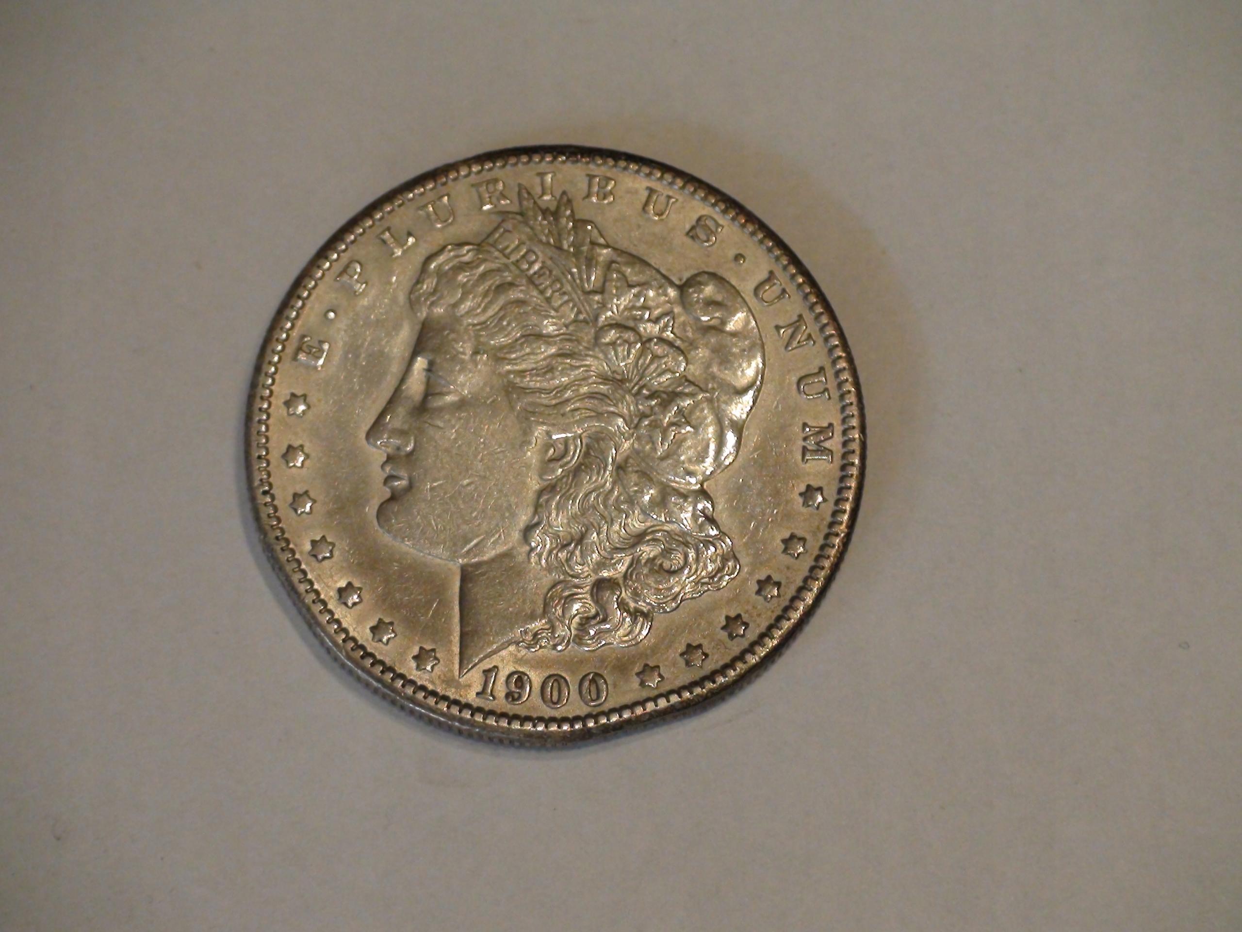 One Dollar Morgan 1900S