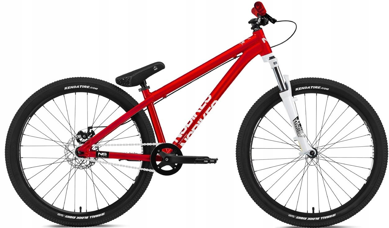 """NS Bikes Zircus 26"""" rower 2019-czerwony"""