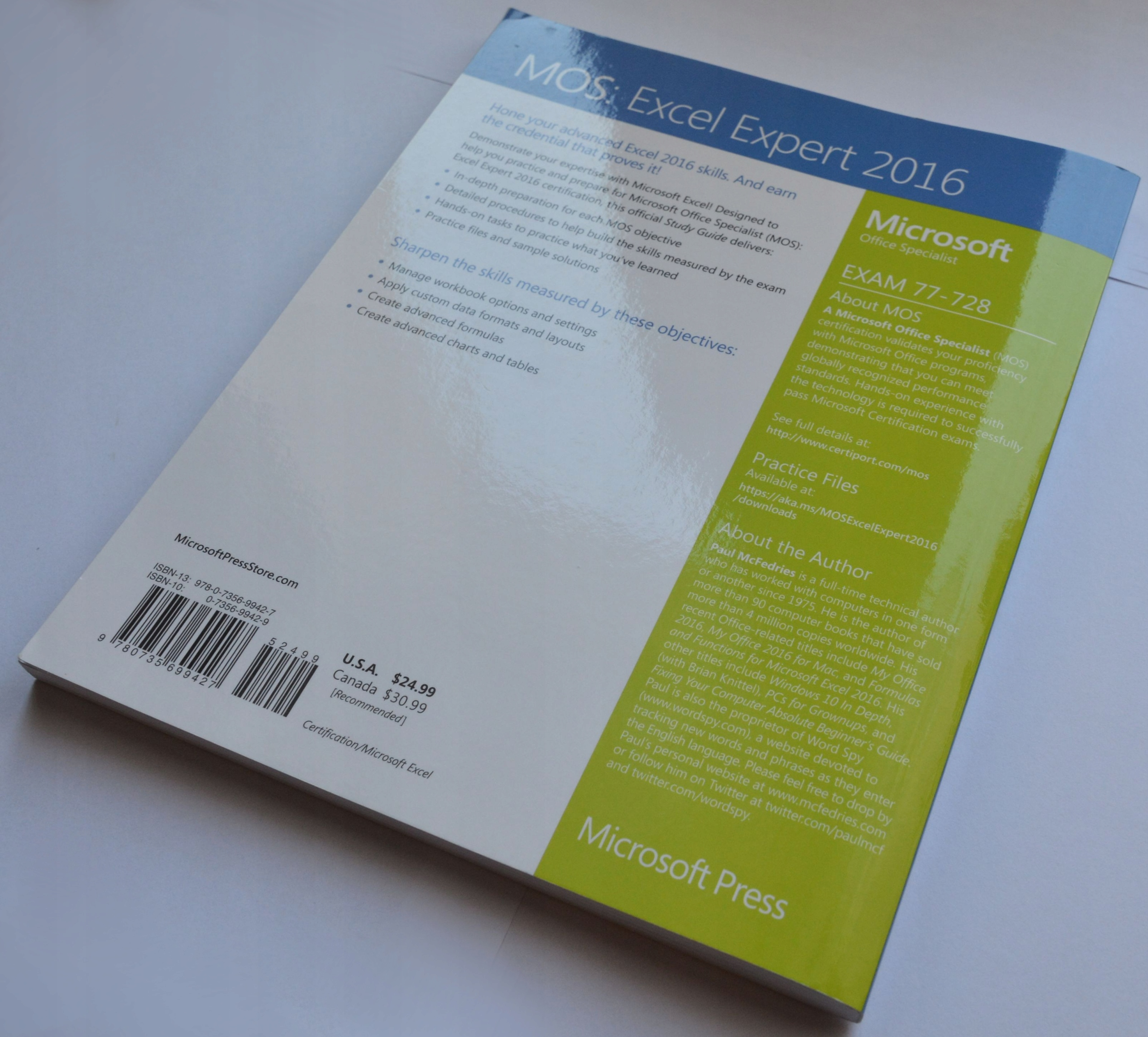 Podręcznik Study MOS 2016 Microsoft Excel Expert