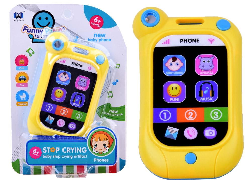 Muzyczny dotykowy telefon dla maluszka ZA2478