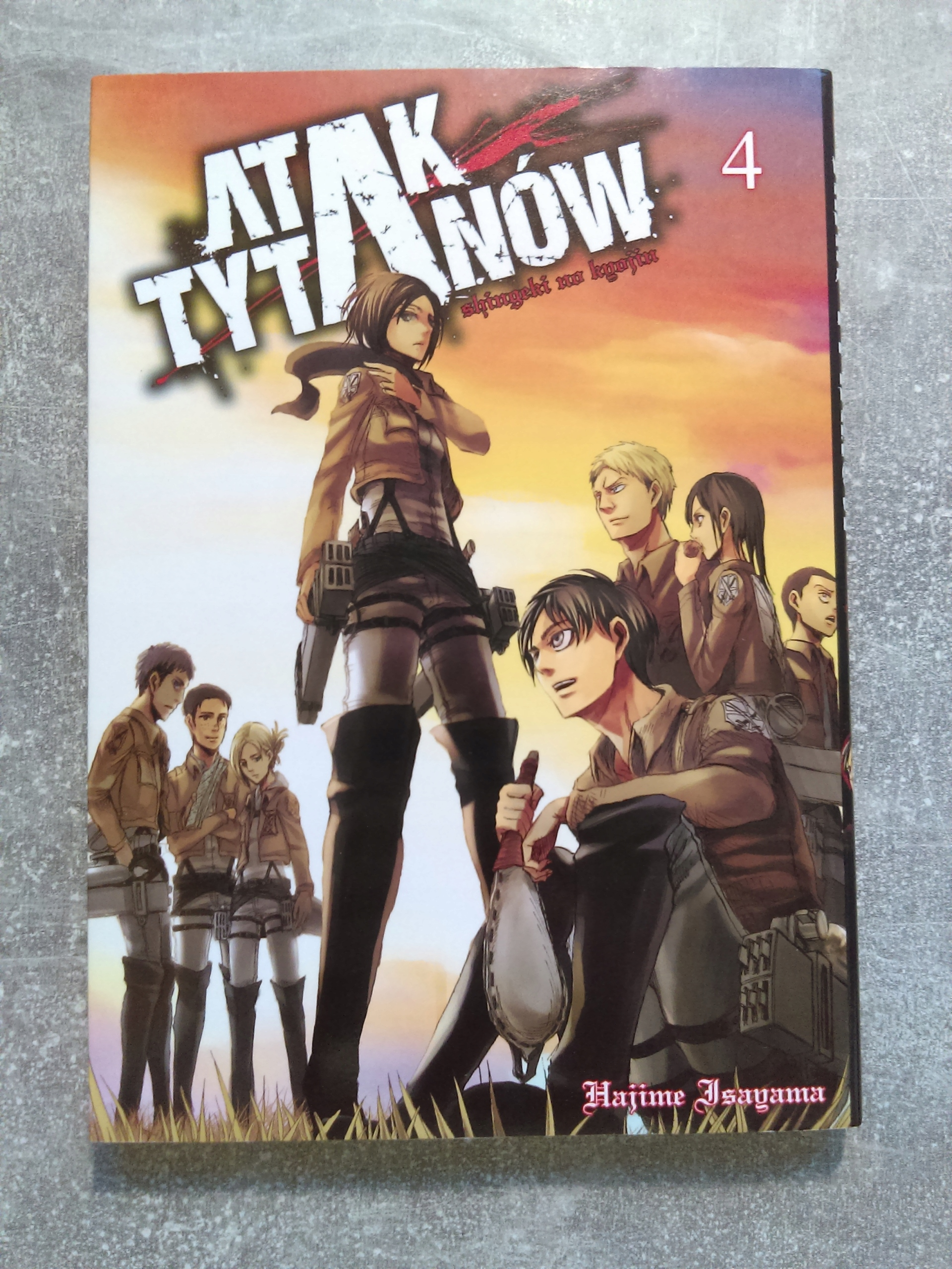 Manga Atak Tytanów tom 4 - Attack On Titan - BDB