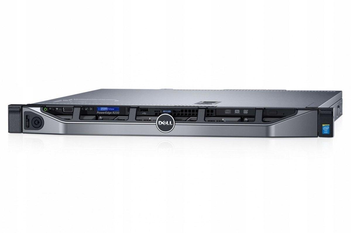 R230 E3-1230v6 8GB 2x1 TB H330 DVDRW 3Y