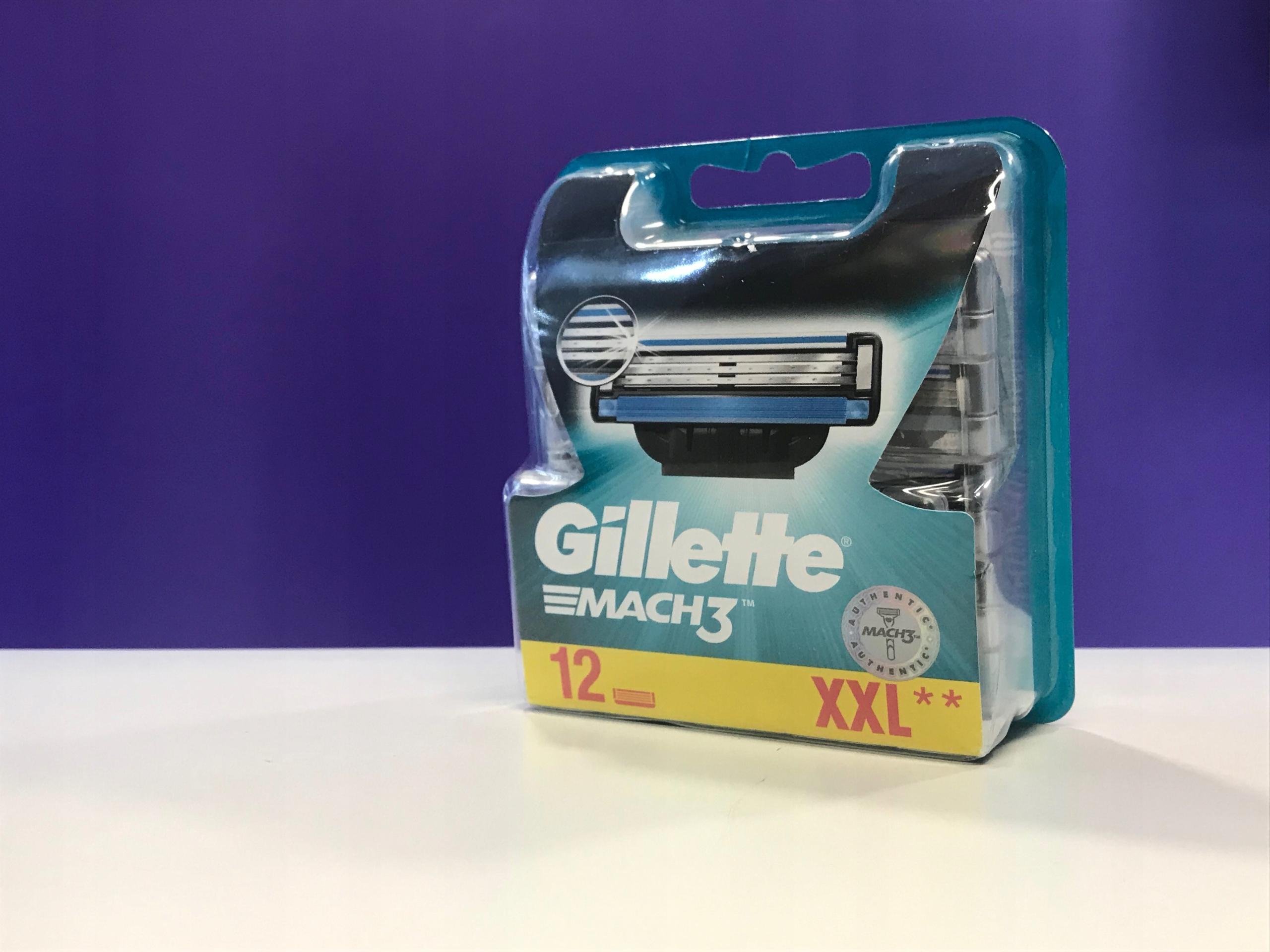 Ostrza Gillette Mach 3 XXL 12szt. 2354/01