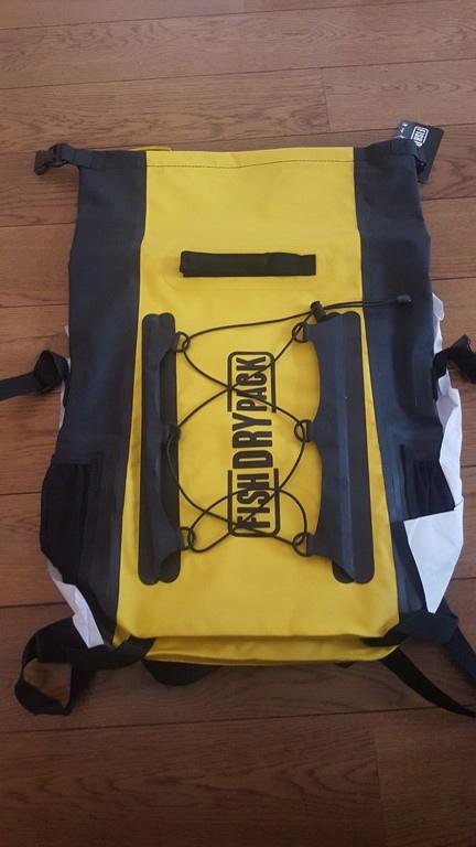 Plecak Wodoodporny Fish Dry Pack 20l Yellow