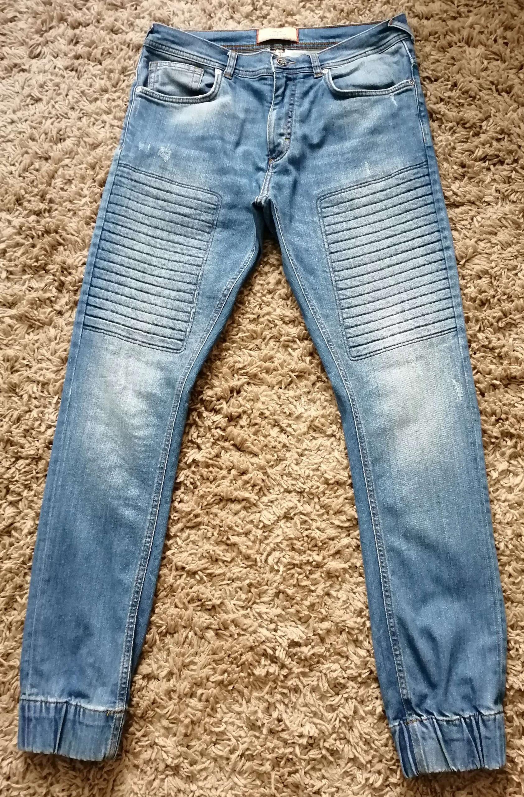 ZARA męskie jeansy rozm 42 joggery OKAZJA!!!