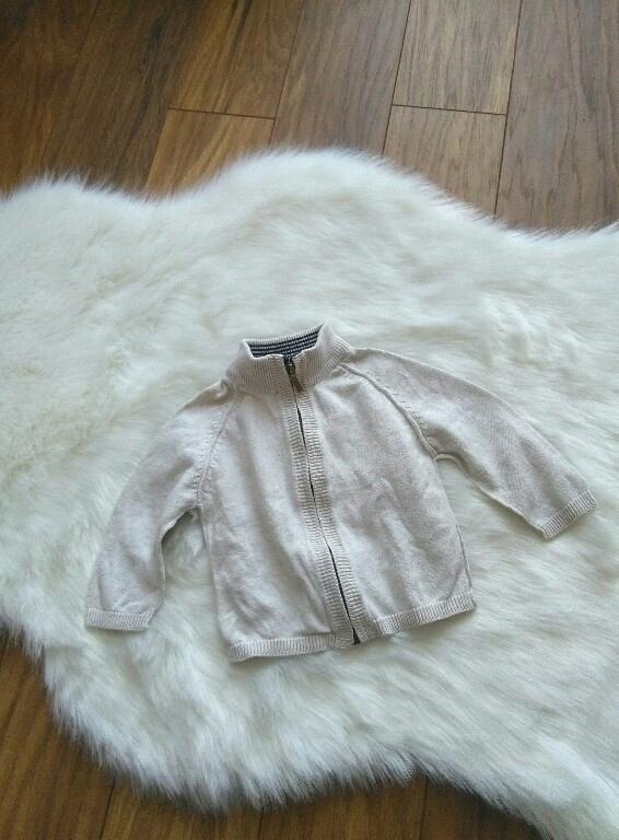 Sweterek ZARA 3-6 miesięcy 68cm sweter bdb