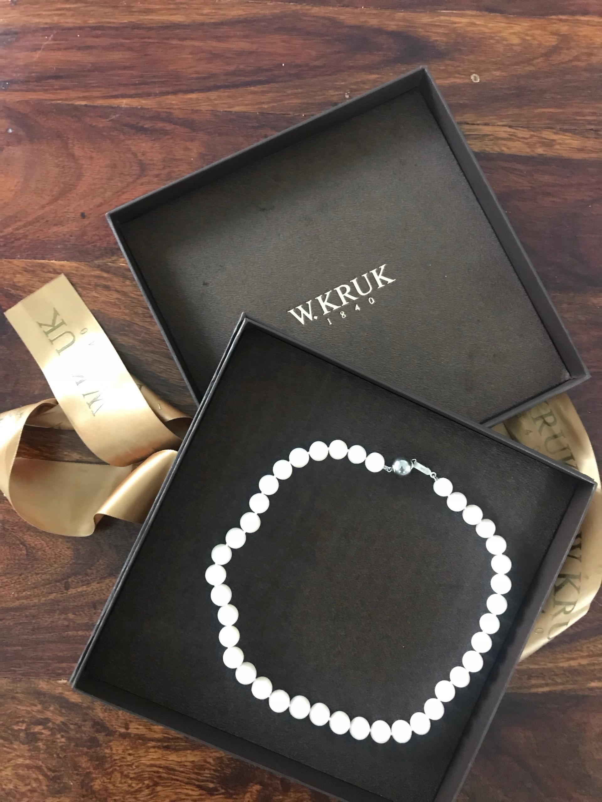 7c672ed4f401f Naszyjnik z pereł - Styl Coco Chanel - 7789330369 - oficjalne ...