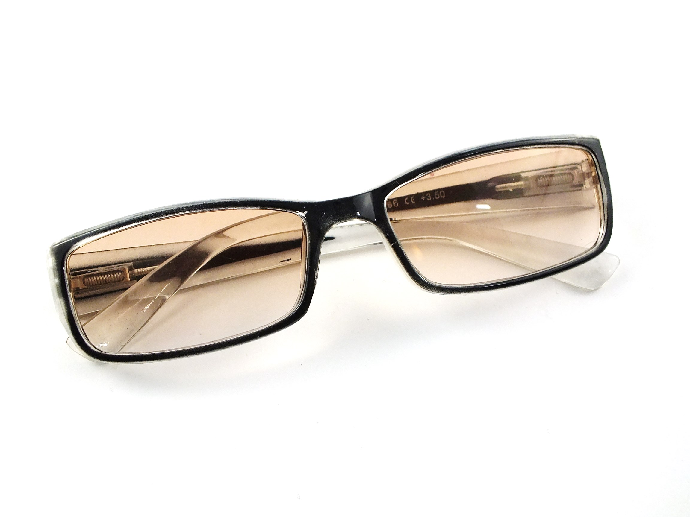 c632f408eda86 Okulary korekcyjne PLUSY + 2,00 Przyciemniane kol - 7150485371 ...