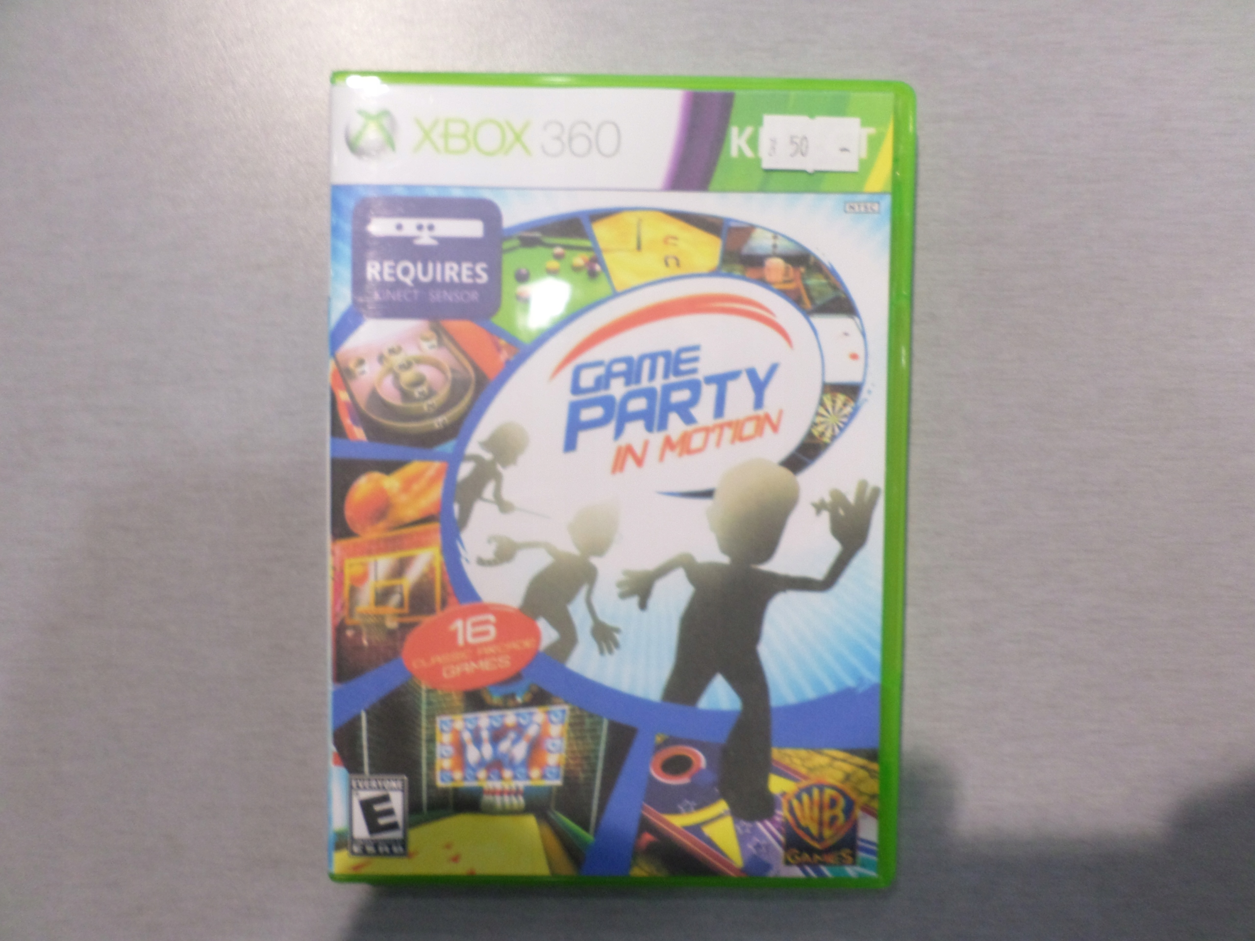 Gra X360 Game Party in Motion Xbox 360 BOX