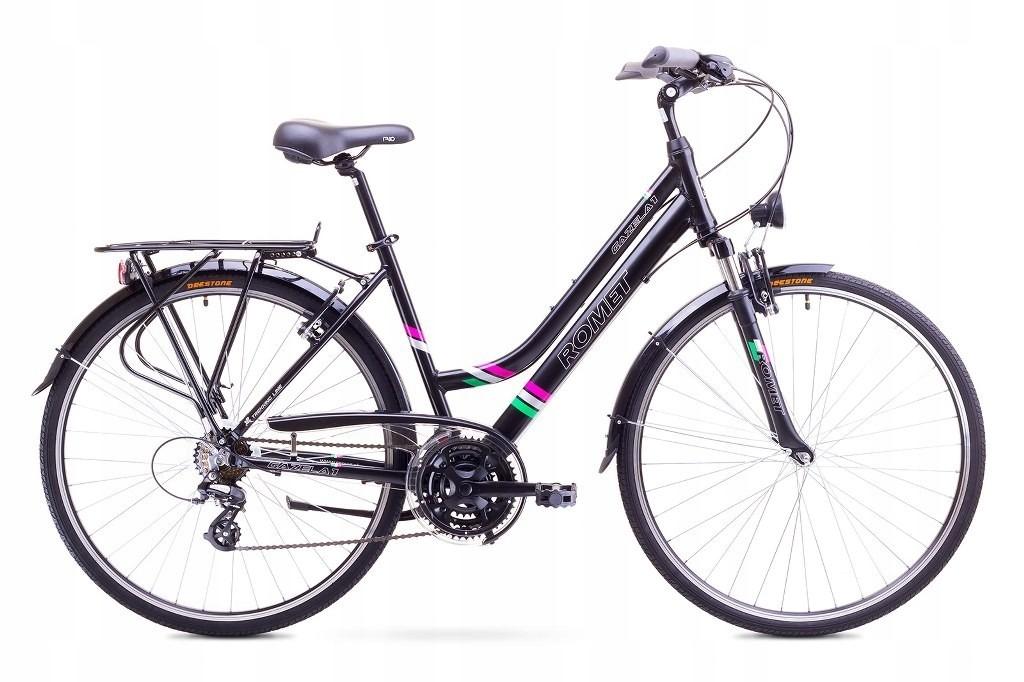 Rower Romet Gazela 1, 17S,czarny,Wyprzedaż