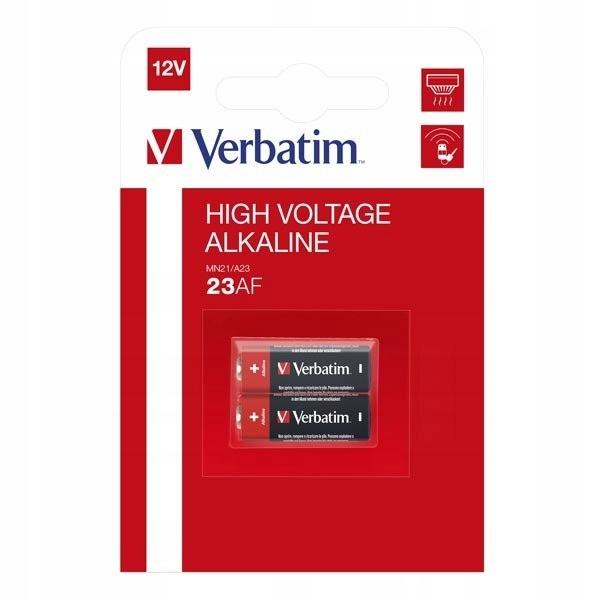 Bateria alkaliczna, 23AE, MN21, A23, 12V, Verbatim