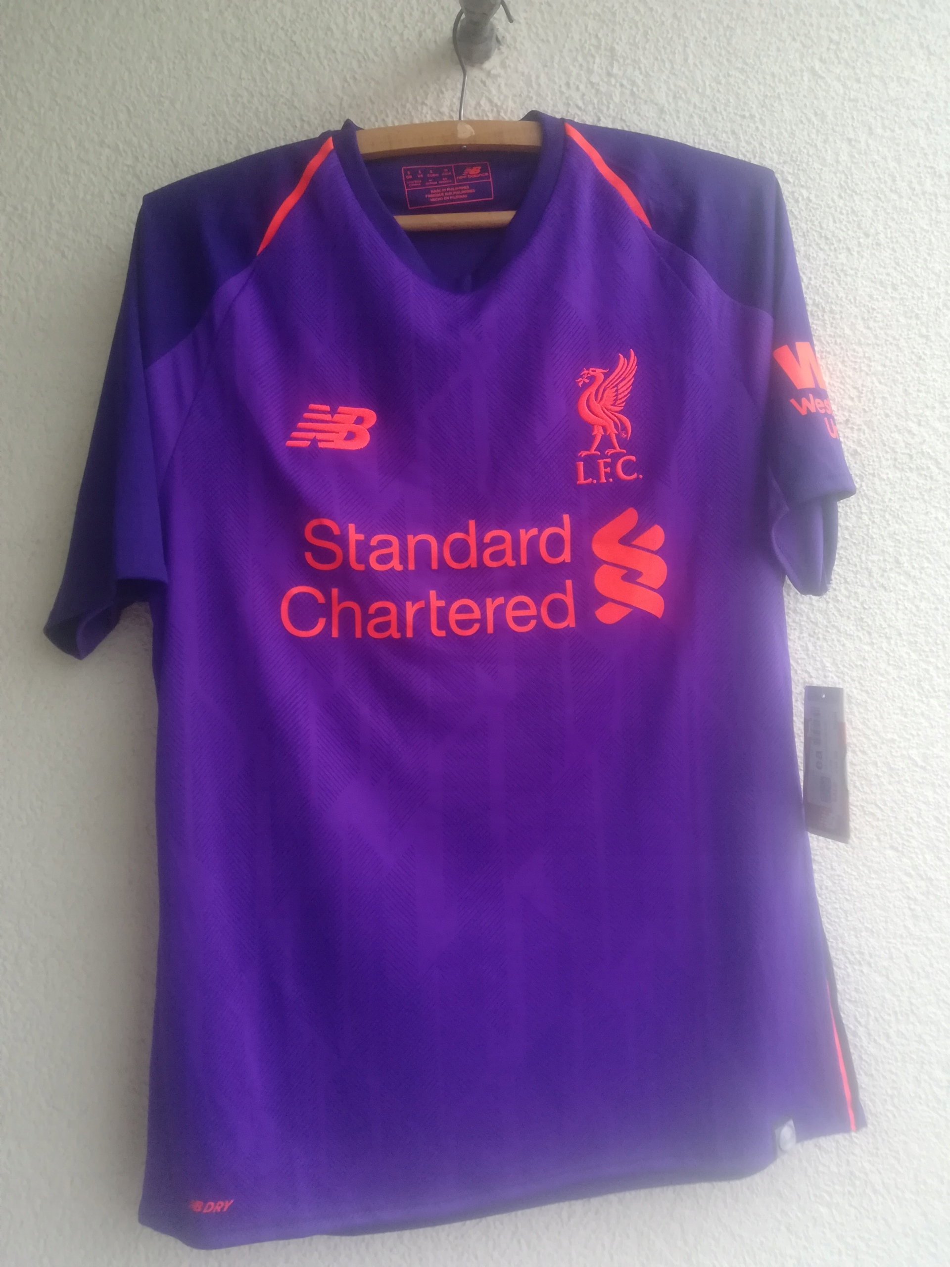 NOWA koszulka Liverpool FC 18/19 r. S New Balance