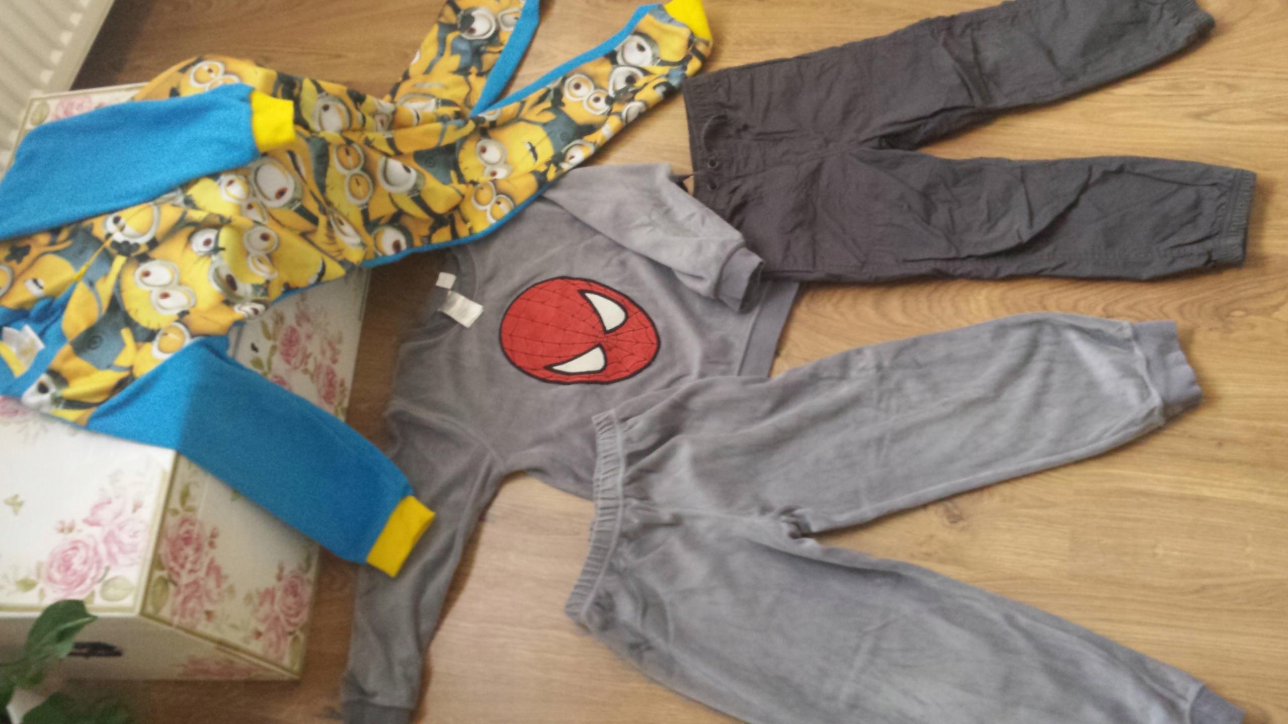 Komplet ubrań dla chłopca 110-116cm :)