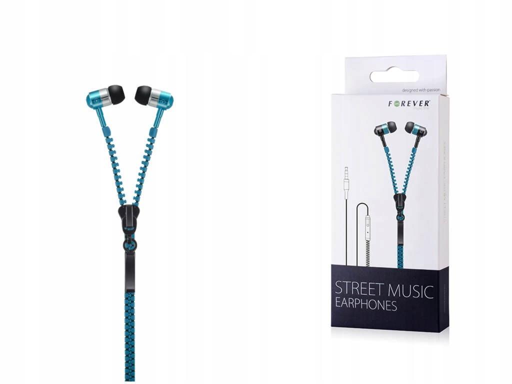 SŁUCHAWKI DOUSZNE - ZAMEK Street Music Niebieskie