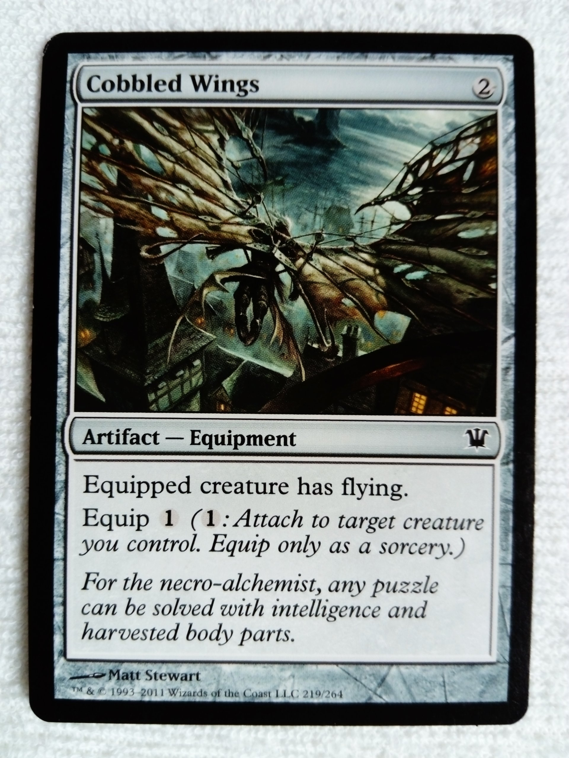 Cobbled Wings x3 - MTG / GRATISY