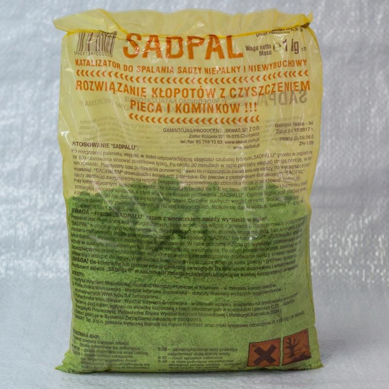 Sadpal 1kg katalizator do spalania sadzy