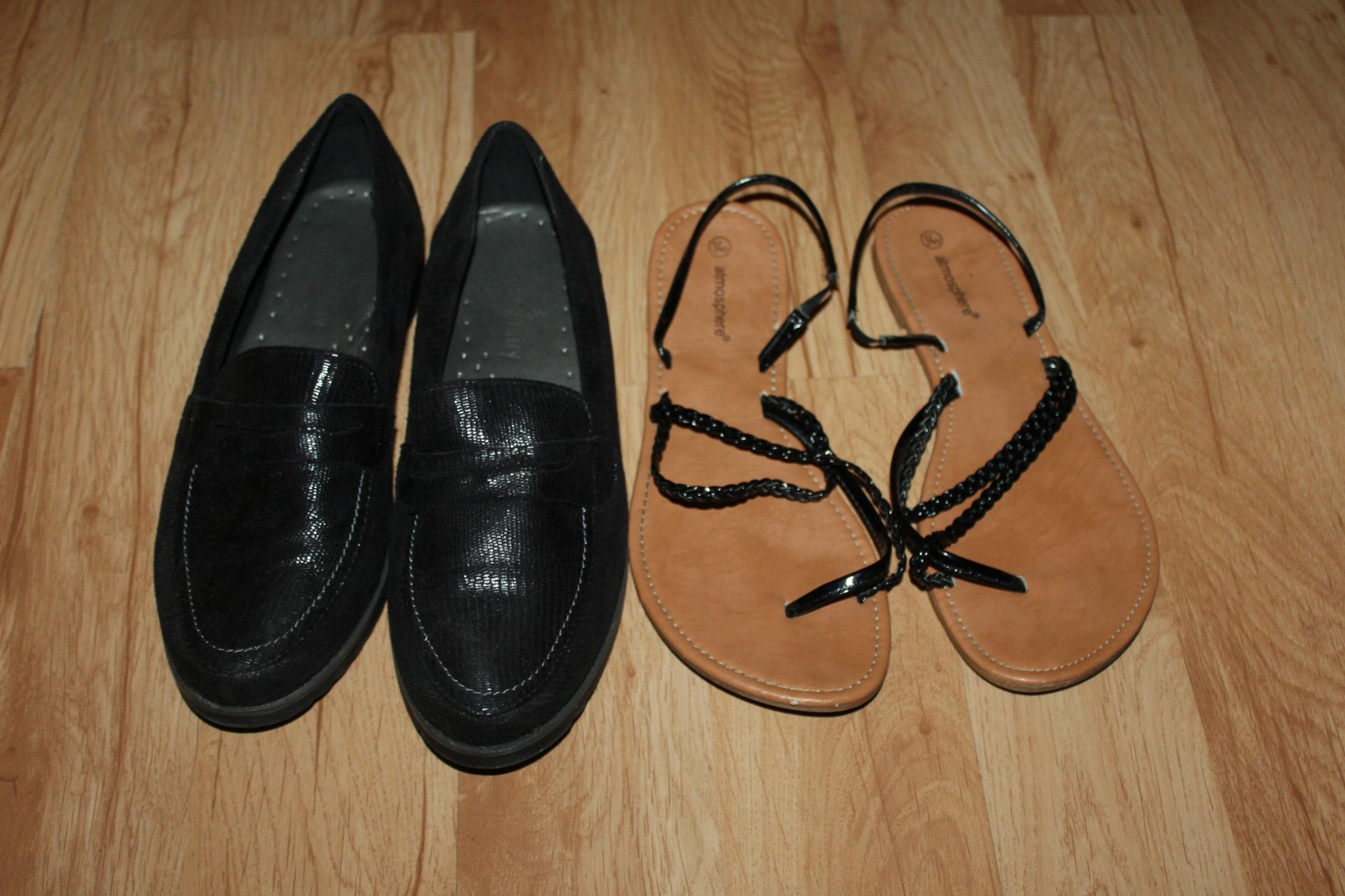 2 pary butów 40 wkł. 25,5 czółenka sandały