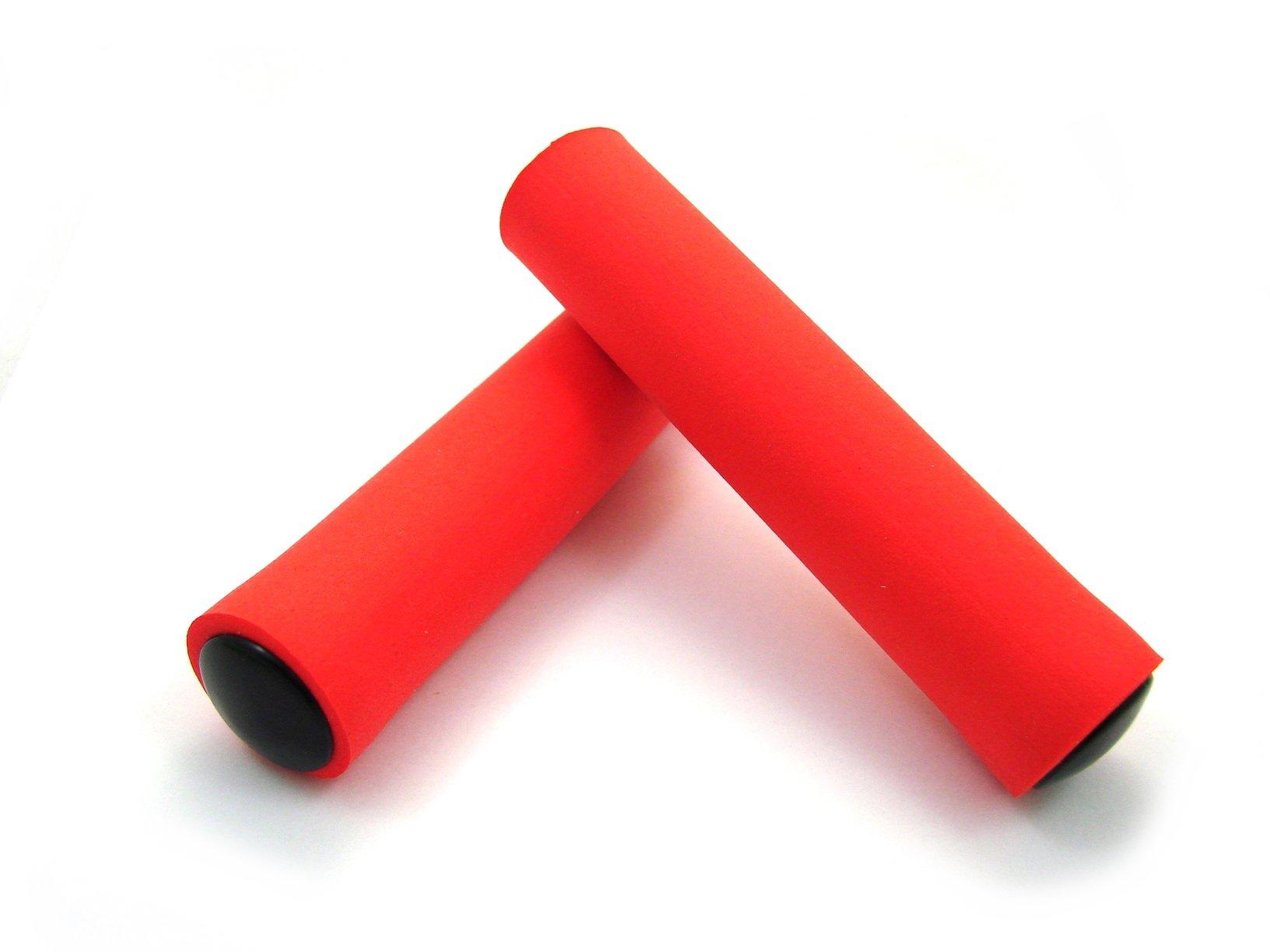 Chwyty Mortop silikonowe pianka czerwone