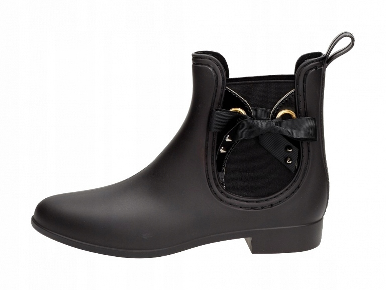 Czarne krótkie kalosze damskie VICES S40-1 MAT r39