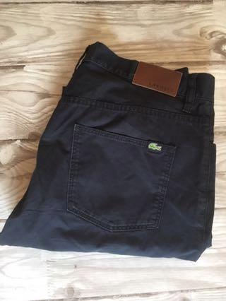 Męskie spodnie Lacoste W33 L32