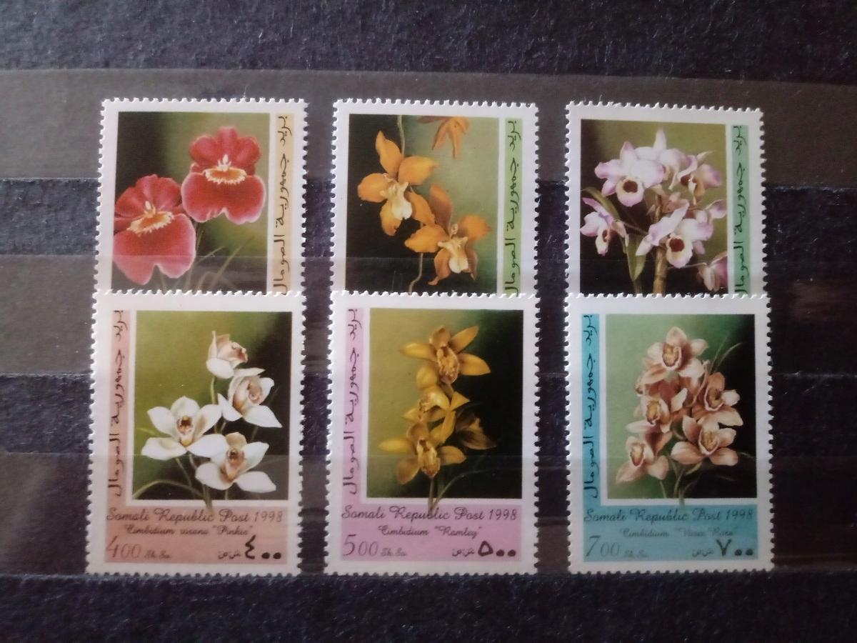 Somalia - kwiaty 1998 **