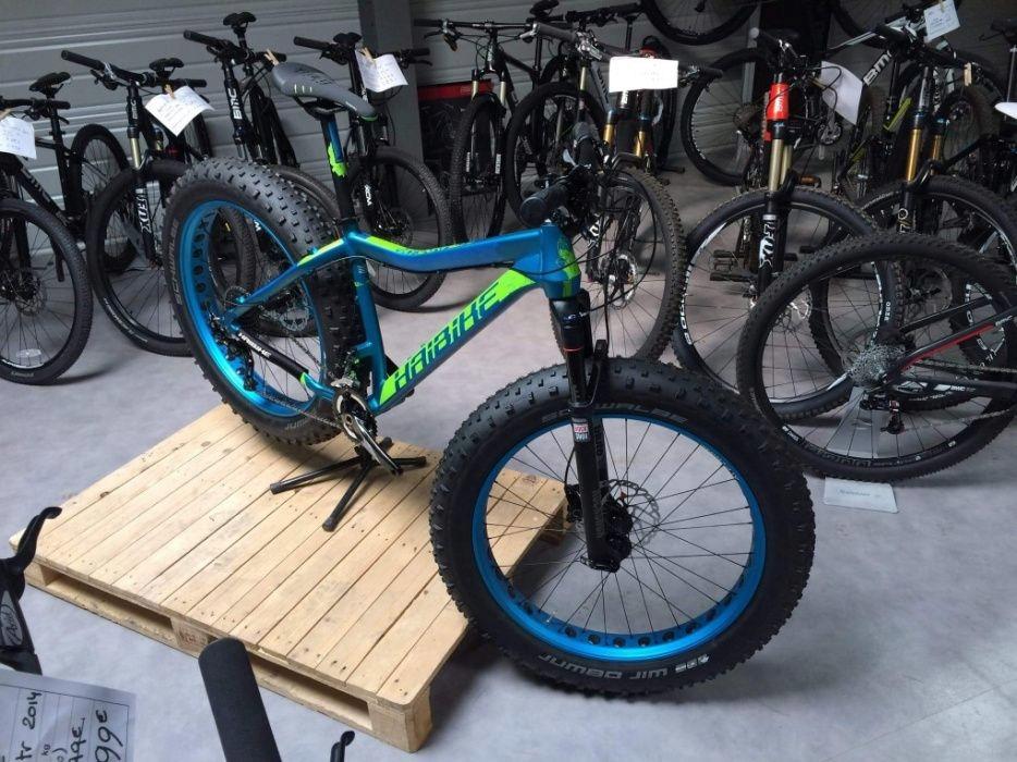 Fatbajk Fatbike Fat Bike Haibike Fatcurve 6.10