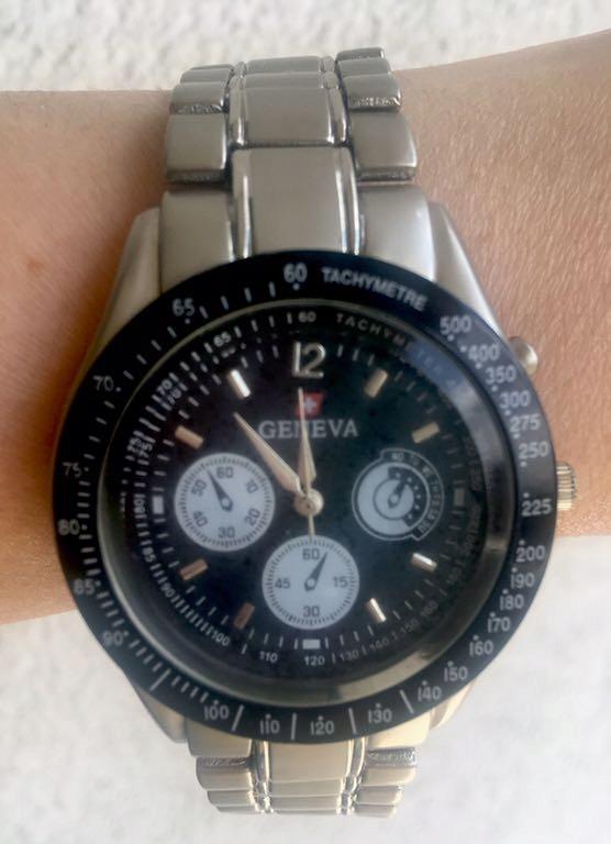 Zegarek męski Genewa mega okazja
