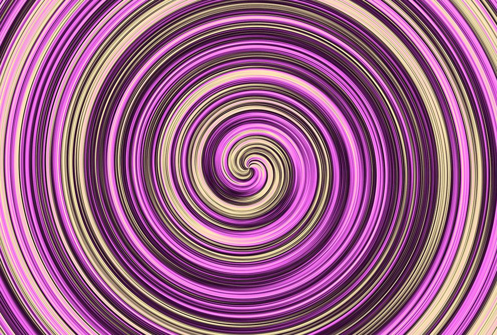 Fioletowa wirówka z kremem Plakaty 185x125