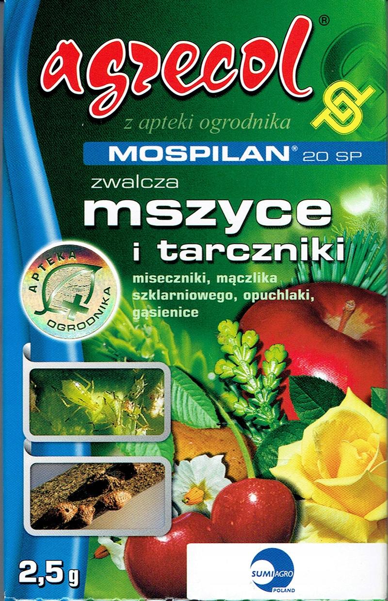 Mospilan 20 SP 2,5g środek owadobójczy