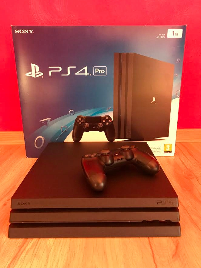 PS4 PRO 1TB KONSOLA PLAYSTATION 4+102GRY+ DMC 5
