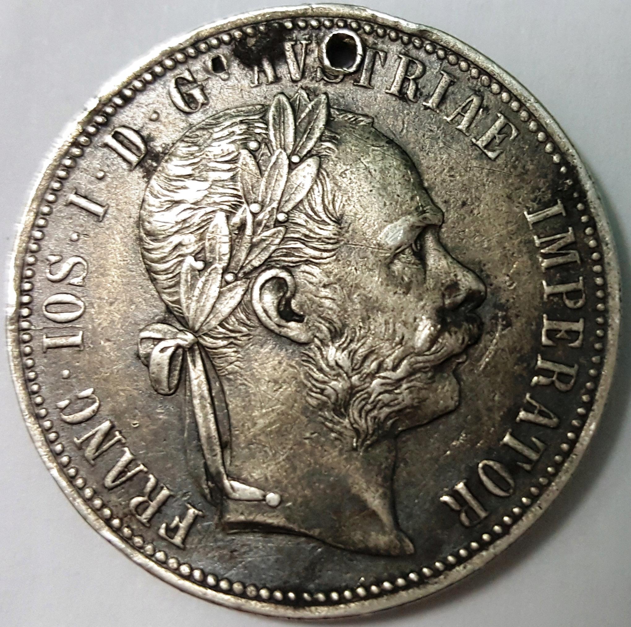 ANK AUSTRO-WĘGRY FRANC IOS 1 FLOREN 1888 !!!!!!!!!