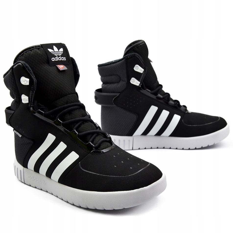 Buty Adidas Trail Break zimowe Sneakersy BZ0509 36
