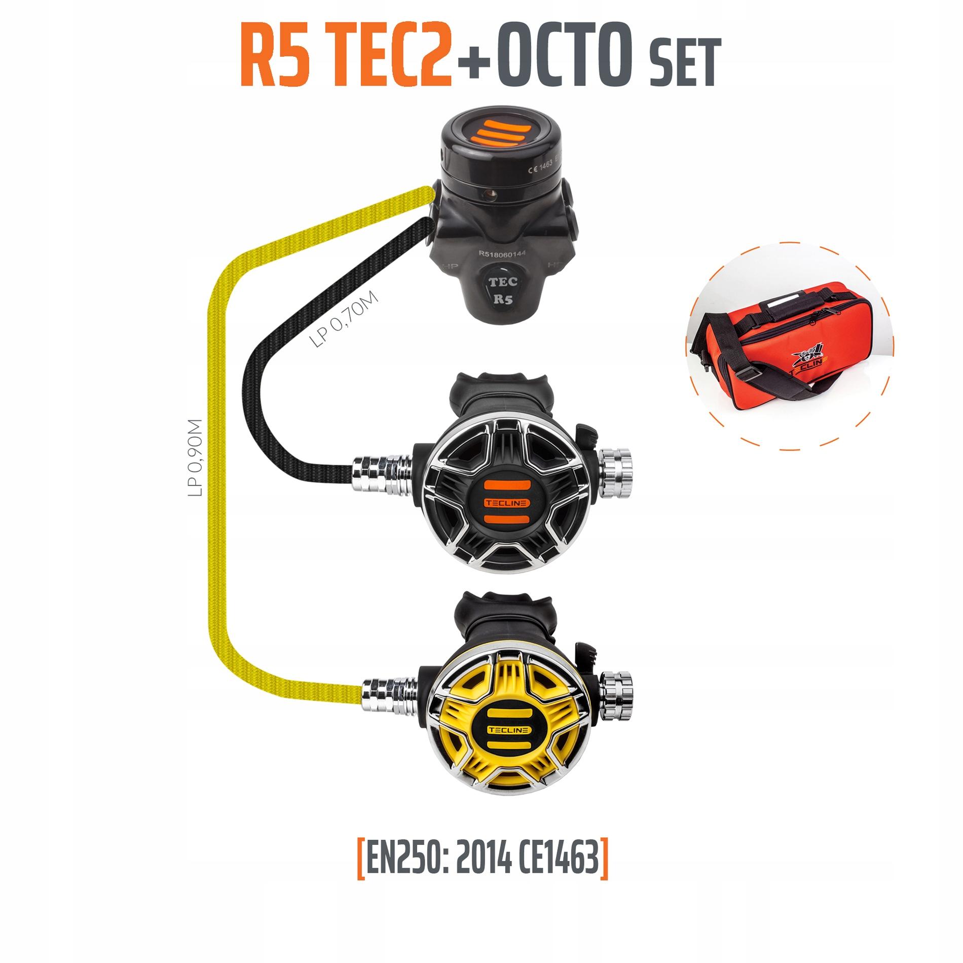 Tecline R5 TEC2 z Octopusem - EN250:2014