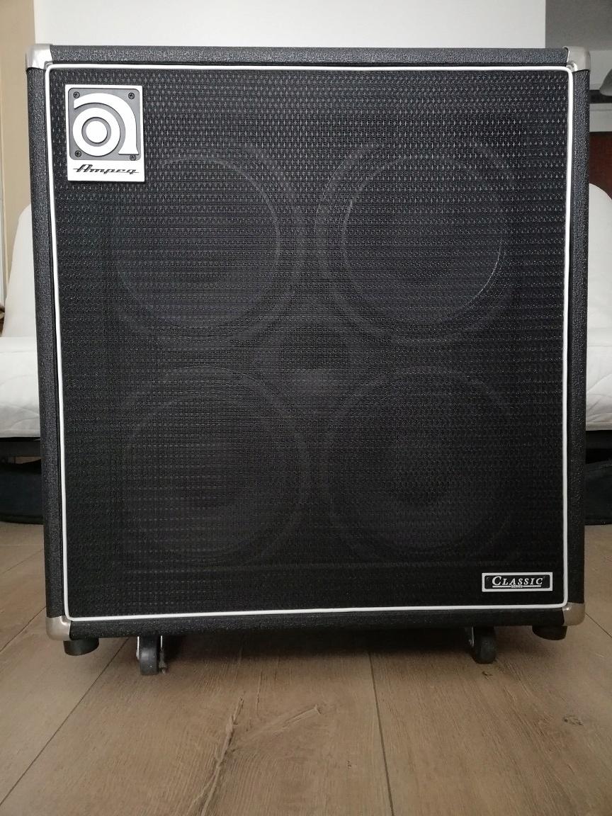 Kolumna basowa Ampeg SVT-410HE 500W 8Ohm Poznań
