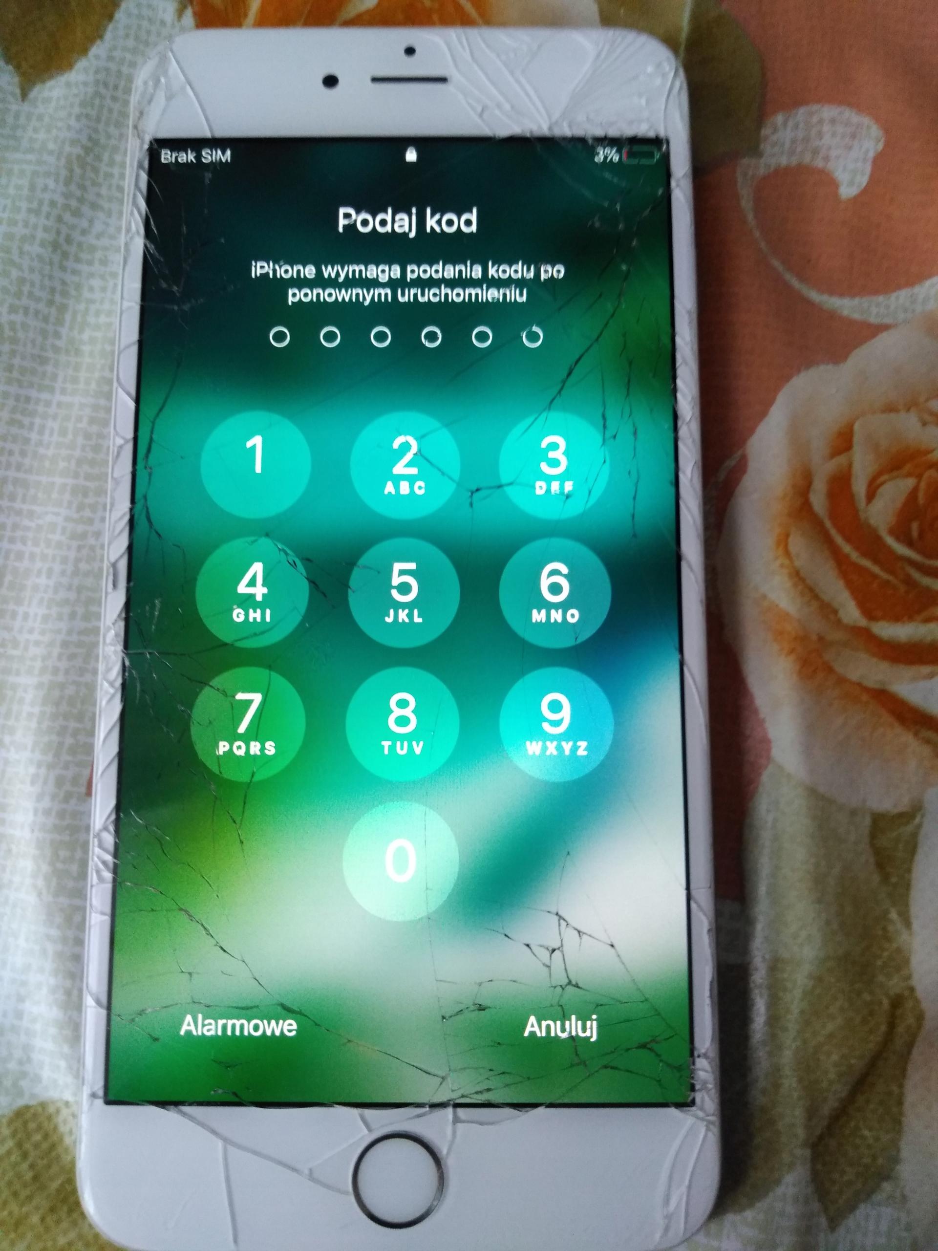 wyświetlacz Iphone 6s plus 5,5 cala