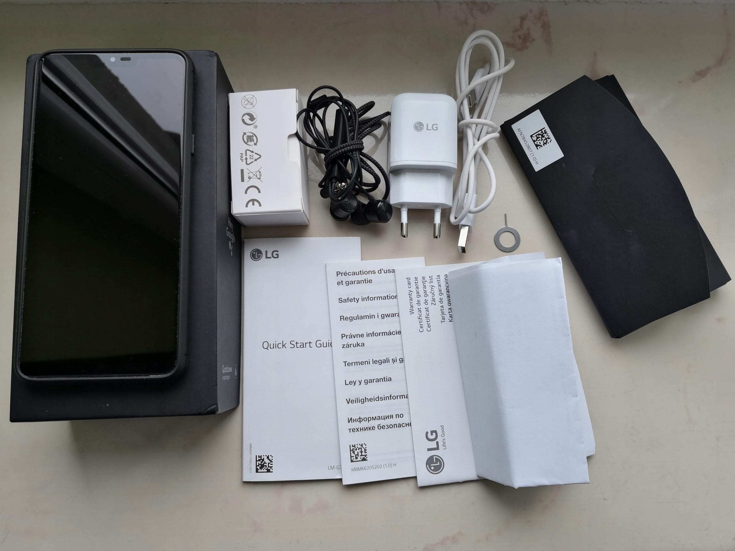 LG G7 ThinQ LM-G710EM (nie fit) Jak nowy GWARANCJA