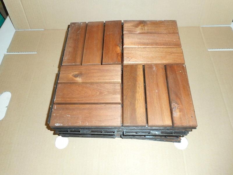 Ikea Drewniana Płyta Podłogowa Na Balkon Taras 7796900996