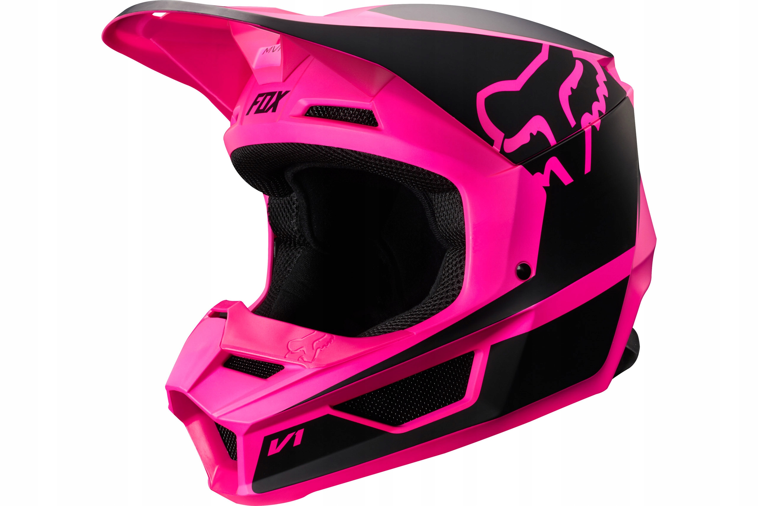 KASK CROSS FOX JUNIOR V1 PRZM BLACK PINK YM MX2019