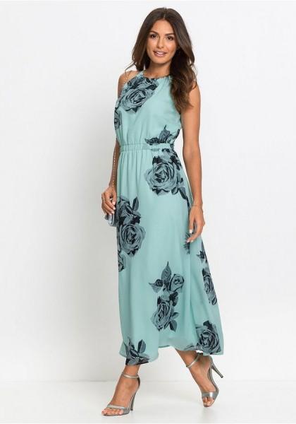 Nowa sukienka maxi w kwiaty 42
