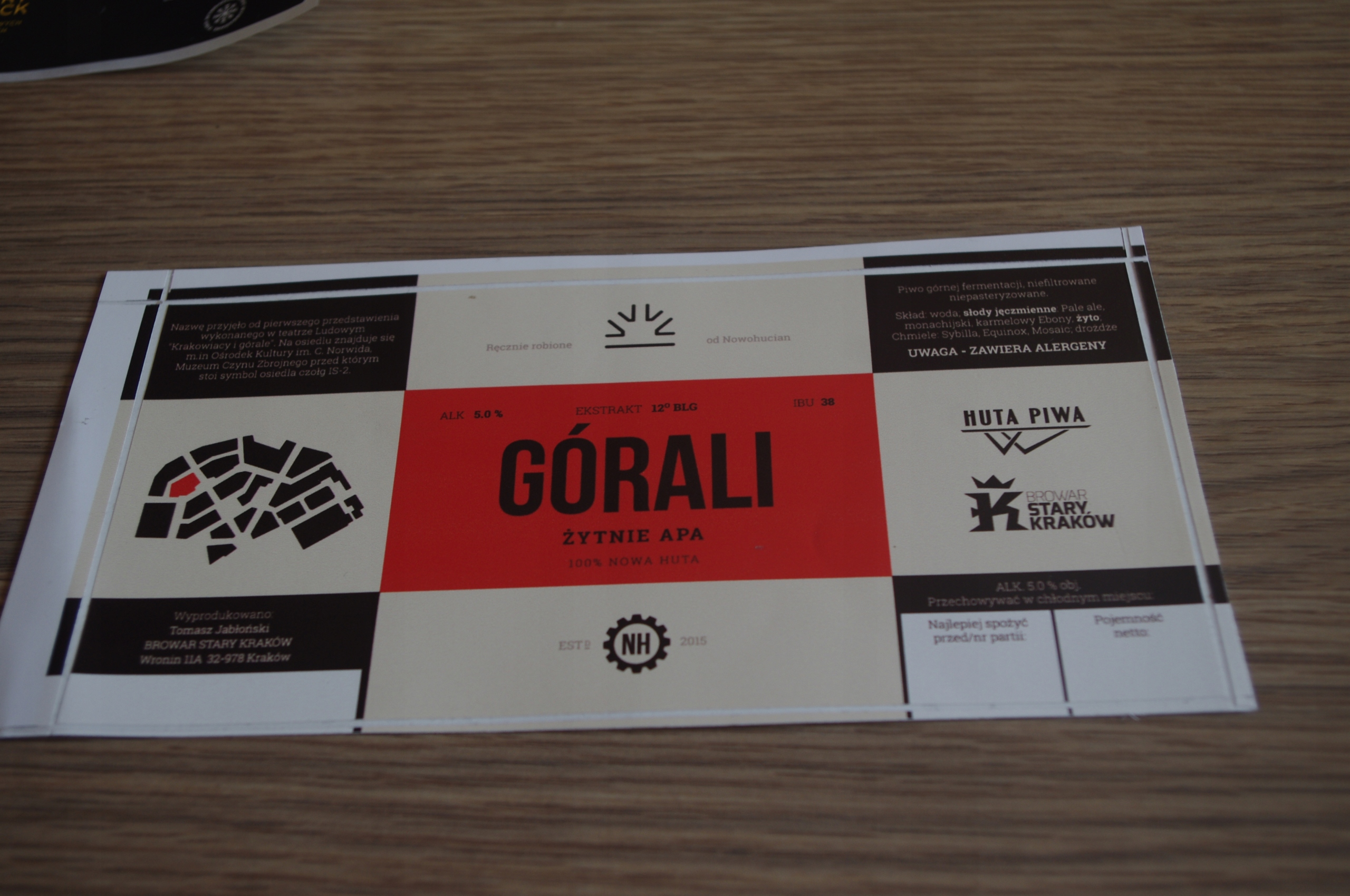 HUTA PIWA - GÓRALI