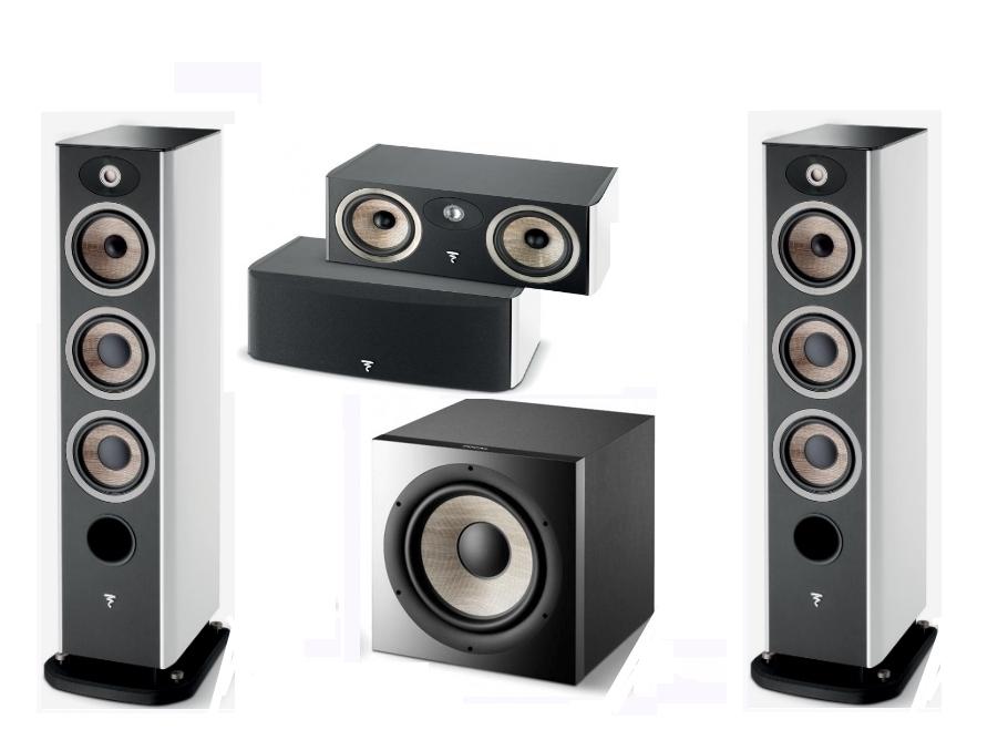 Zestaw Set FOCAL ARIA 926 + CC900 + SUB1000 biały