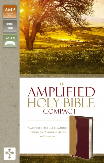 Amplified Holy Bible, Compact, Leathersoft, TanBu