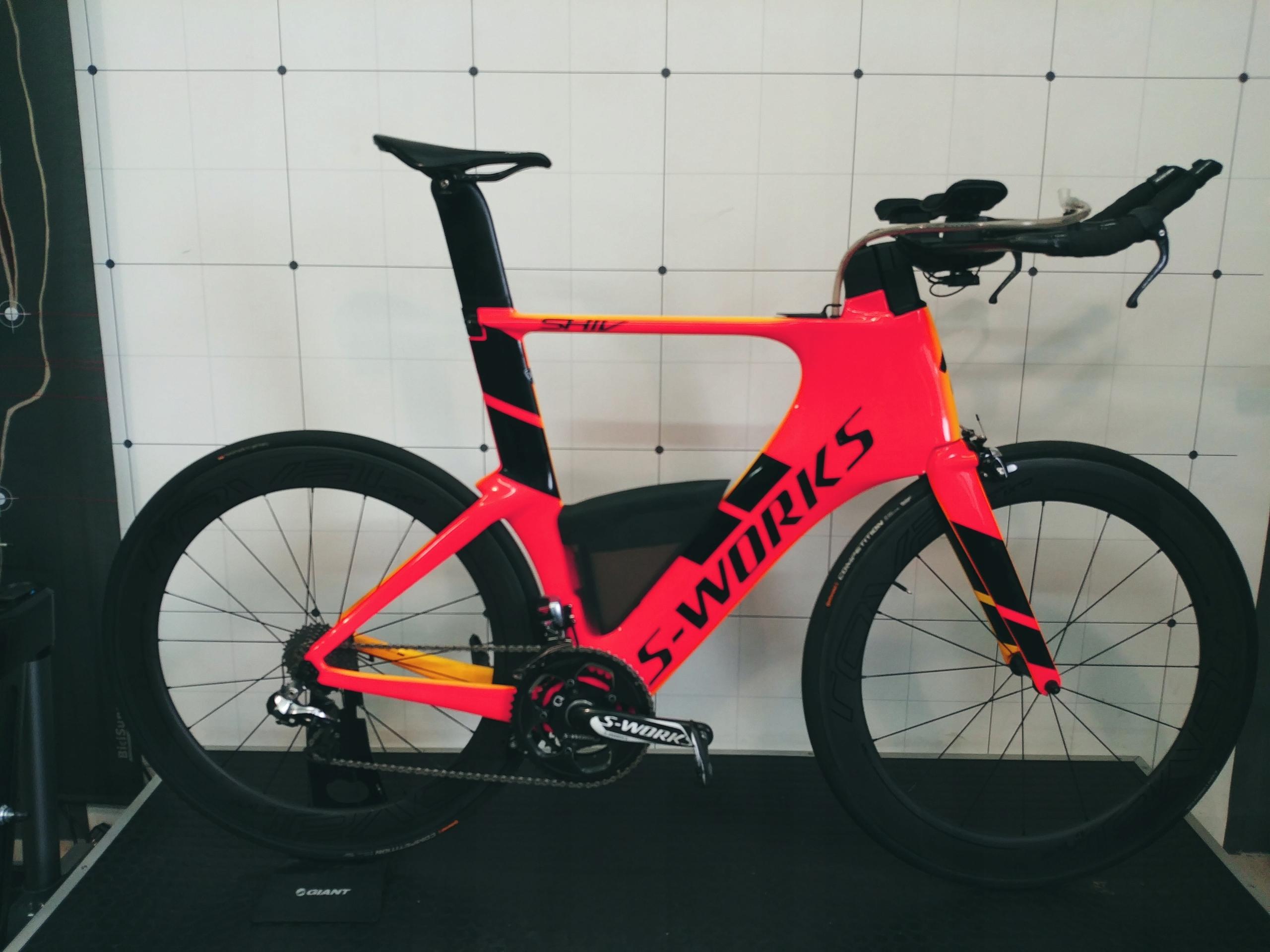 Rower triathlonowy Specialized S Works Shiv XL